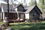 Craftsman House Plan Rear Photo 01 - 011D-0043 | House Plans and More