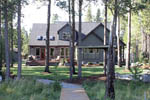 Craftsman House Plan Rear Photo 03 - 011D-0043 | House Plans and More