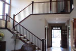 European House Plan Stairs Photo 01 - 011D-0043 | House Plans and More