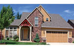 European House Plan Front Photo 03 - 011D-0046 | House Plans and More