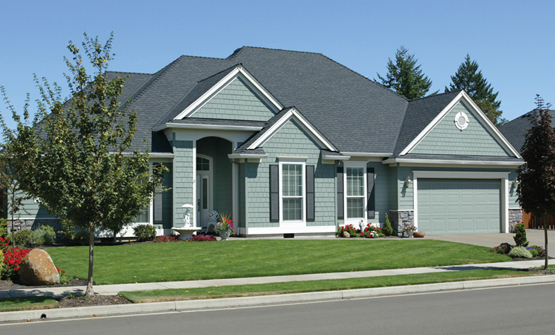 Ranch House Plan Front of Home 011D-0070
