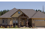 European House Plan Front of Home - 011D-0074 | House Plans and More