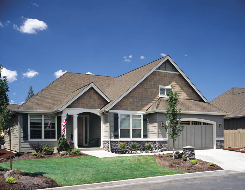 Craftsman House Plan Front of Home 011D-0077