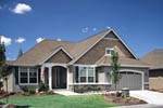 Ranch House Plan Front of Home - 011D-0077 | House Plans and More