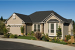 Ranch House Plan Front Photo 01 - 011D-0078 | House Plans and More