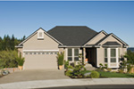 Ranch House Plan Front Photo 02 - 011D-0078 | House Plans and More