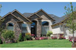 Ranch House Plan Front Photo 04 - 011D-0078 | House Plans and More