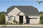 Arts and Crafts House Plan Front of Home - 011D-0085 | House Plans and More