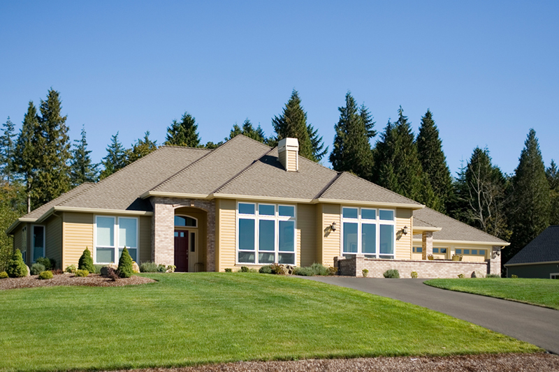 Traditional House Plan Front of Home 011D-0088