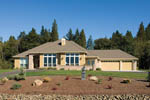 Contemporary House Plan Front of Home - 011D-0088 | House Plans and More
