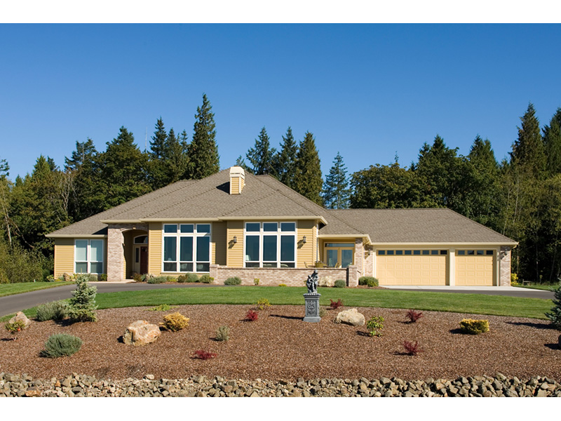 Traditional House Plan Front Photo 01 011D-0088