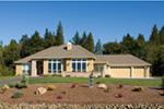 Ranch House Plan Front Photo 01 - 011D-0088 | House Plans and More