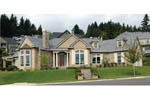 European House Plan Front of Home - 011D-0092 | House Plans and More