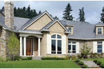 Traditional House Plan Front Photo 01 - 011D-0092 | House Plans and More