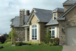 European House Plan Side View Photo 02 - 011D-0092 | House Plans and More