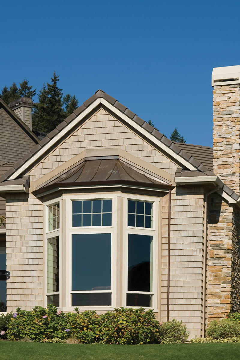Ranch House Plan Window Detail Photo 011D-0092