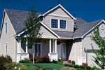 Craftsman House Plan Front of Home - 011D-0096 | House Plans and More