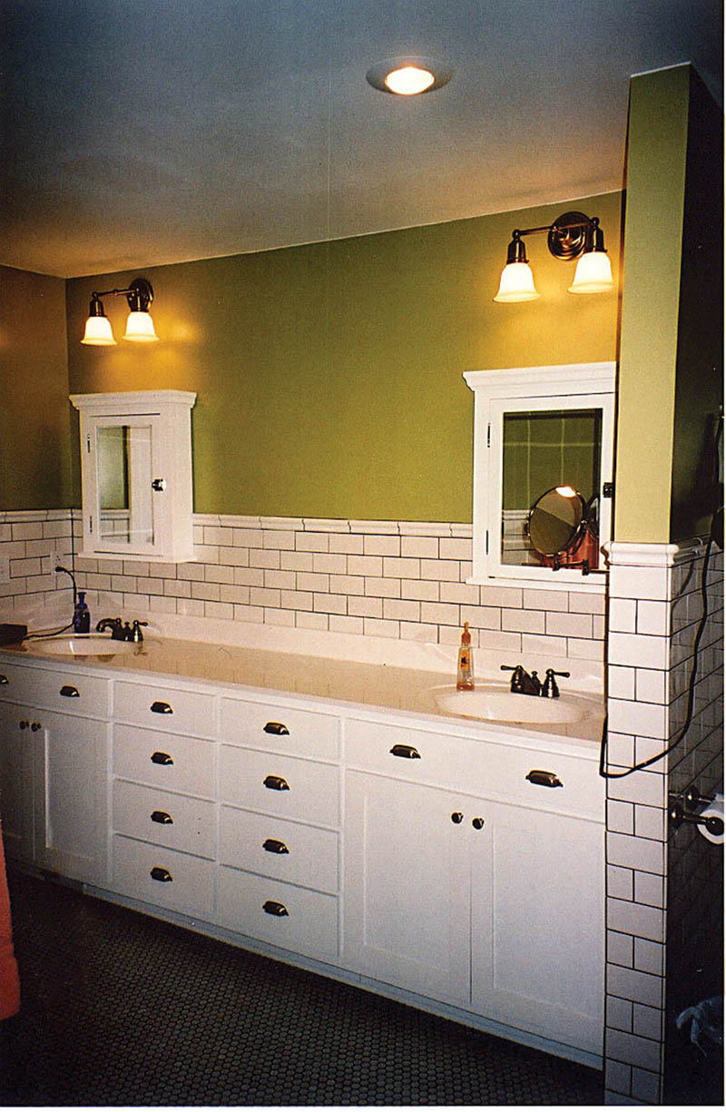Rustic Home Plan Master Bathroom Photo 01 011D-0103