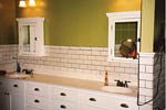 Cabin & Cottage House Plan Master Bathroom Photo 01 - 011D-0103 | House Plans and More