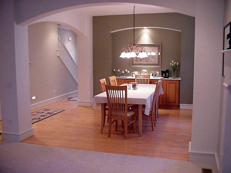 Country House Plan Dining Room Photo 01 011D-0112