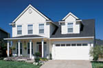 Colonial Floor Plan Front of Home - 011D-0112 | House Plans and More