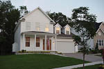 Colonial Floor Plan Front Photo 02 - 011D-0112 | House Plans and More