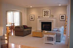 Farmhouse Home Plan Living Room Photo 01 - 011D-0112 | House Plans and More