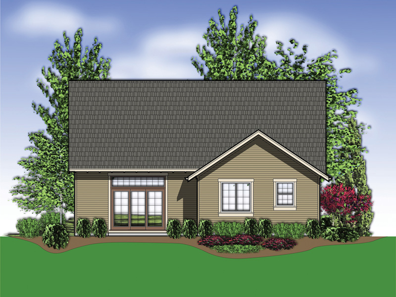 Country House Plan Rear Photo 01 - 011D-0124 | House Plans and More