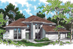 Modern House Plan Front of Home - 011D-0133 | House Plans and More