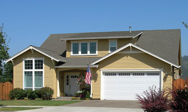 Craftsman House Plan Front of Home 011D-0141