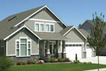 Craftsman House Plan Front Photo 01 - 011D-0142 | House Plans and More