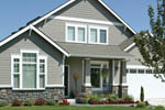 Craftsman House Plan Front Photo 04 - 011D-0142 | House Plans and More