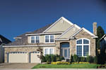 European House Plan Front of Home - 011D-0144 | House Plans and More