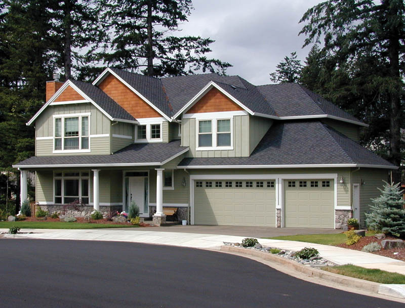 Craftsman House Plan Front Photo 01 - 011D-0146 | House Plans and More
