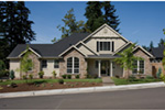 Craftsman House Plan Front Photo 01 - 011D-0148 | House Plans and More