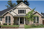 Craftsman House Plan Front Photo 03 - 011D-0148 | House Plans and More