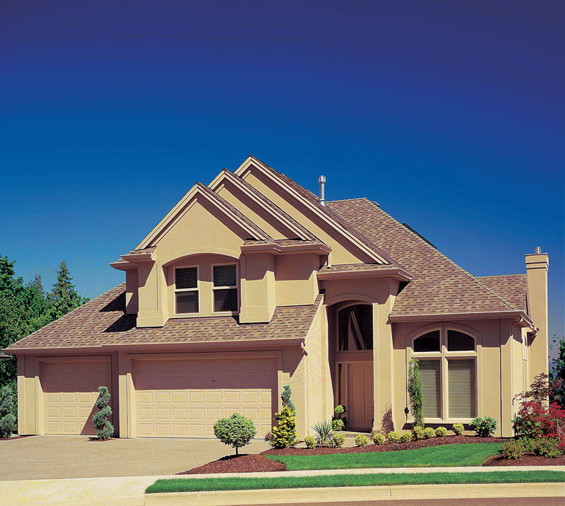 European House Plan Front Photo 02 011D-0163