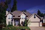 European House Plan Front of Home - 011D-0164 | House Plans and More