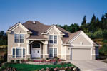 European House Plan Front Photo 01 - 011D-0164 | House Plans and More