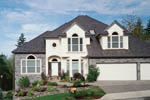 Traditional House Plan Front Photo 10 - 011D-0166 | House Plans and More