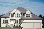 Colonial Floor Plan Front Photo 06 - 011D-0166 | House Plans and More