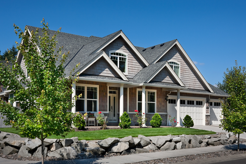 Craftsman House Plan Front of Home 011D-0168