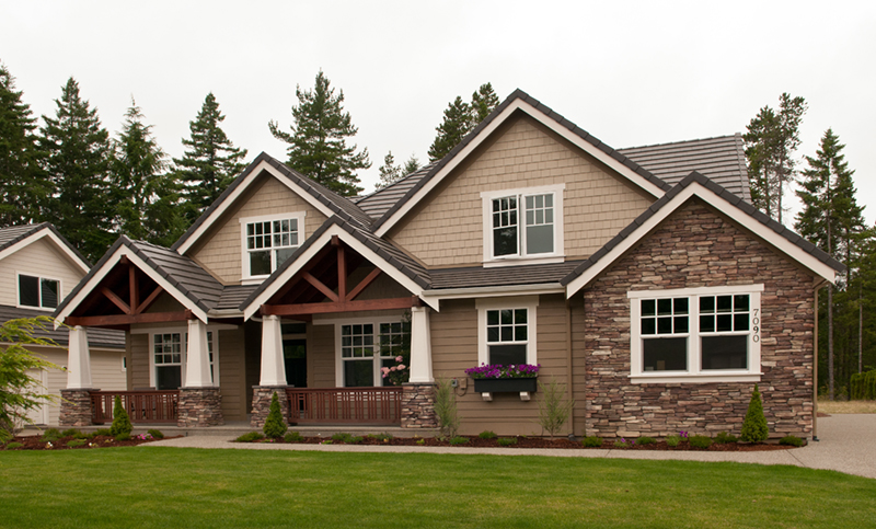 Arts and Crafts House Plan Front of Home - 011D-0169 | House Plans and More