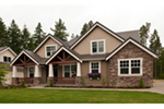Craftsman House Plan Front of Home - 011D-0169 | House Plans and More