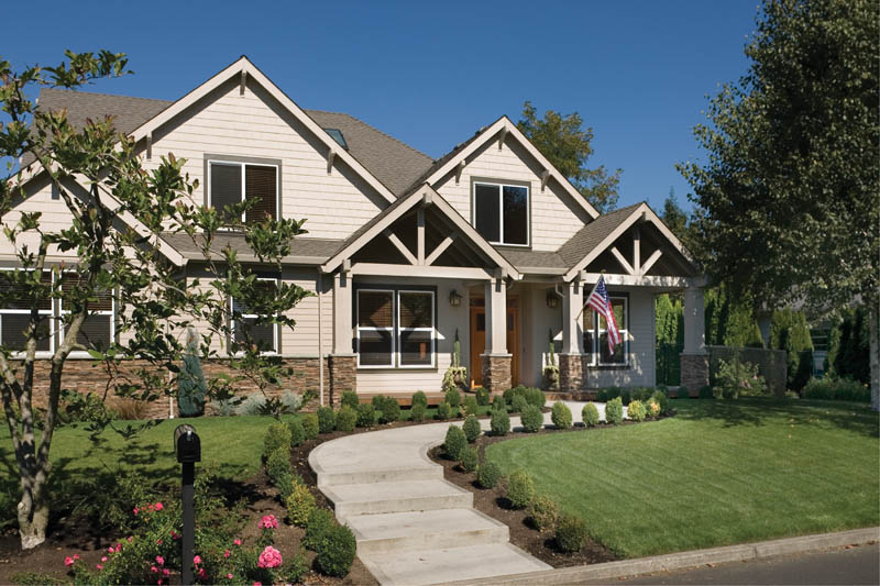 Arts and Crafts House Plan Front Photo 01 - 011D-0169 | House Plans and More