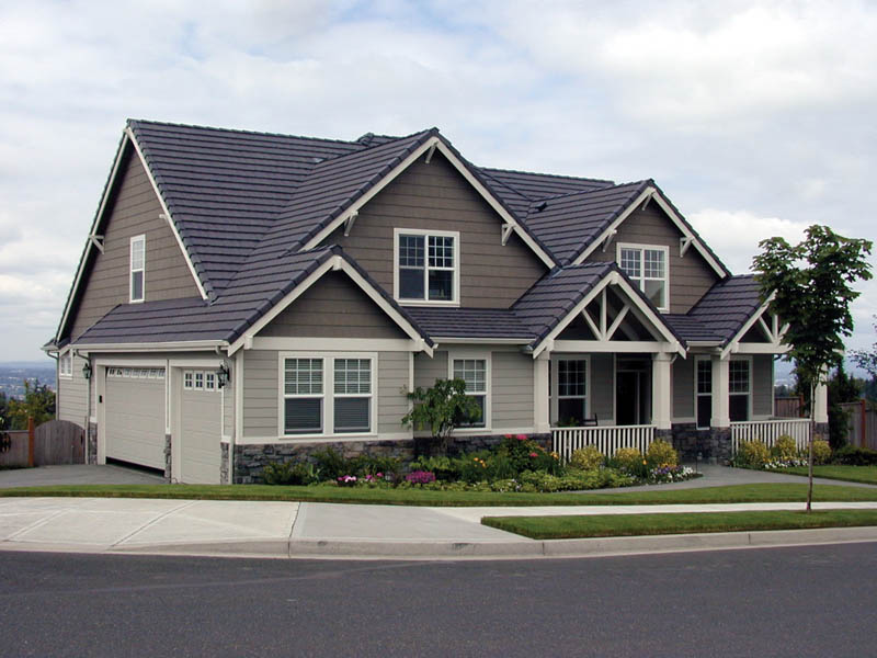 Arts and Crafts House Plan Front Photo 03 - 011D-0169 | House Plans and More