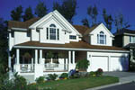Traditional House Plan Front of Home - 011D-0176 | House Plans and More
