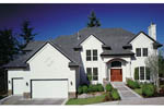 European House Plan Front of Home - 011D-0185 | House Plans and More