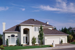 European House Plan Front of Home - 011D-0188 | House Plans and More