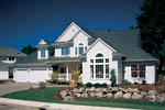 Traditional House Plan Front of Home - 011D-0190 | House Plans and More